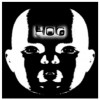 hog- baby head full - 10x10