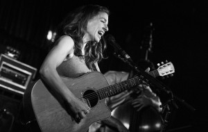 Ani DiFranco @ The Glee Club, 17th Sept '14 / www.katjaogrinphotography.com
