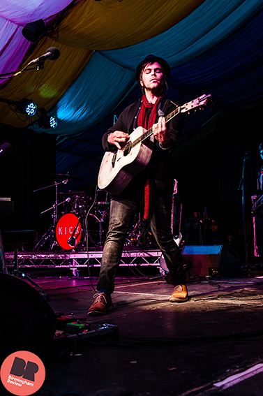 gaz Coombes @ Moseley Folk Festival '15 / By Rob Hadley - Indie Images, for Birmingham Review
