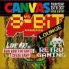 8 bit lounge Vs canvas - poster