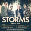Storms - Undress tour poster - FEAT & FB