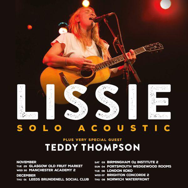 Lissie UK Tour 2016
