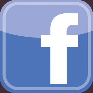 Facebook - f square, rounded - with colour