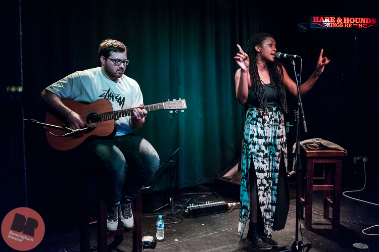 BREVIEW: Dee Ajayi – supporting Ed Geater @ Hare & Hounds 24.03.17 / Rob Hadley - Birmingham Review