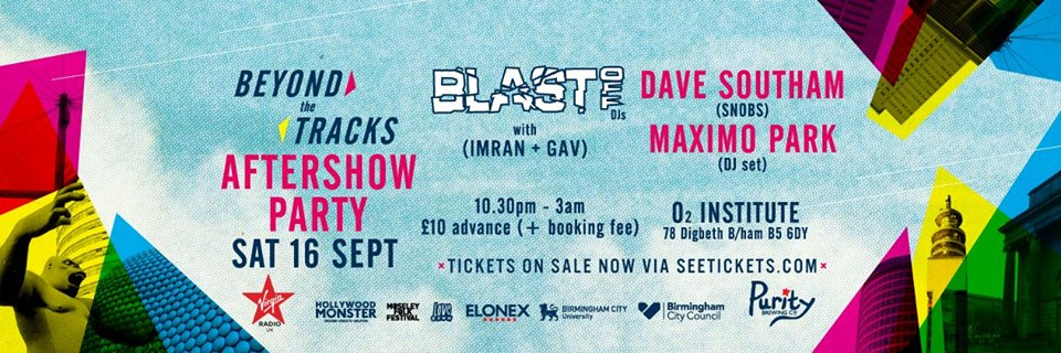BPREVIEW: Beyond the Tracks - after party @ O2 Institute 16..09.17