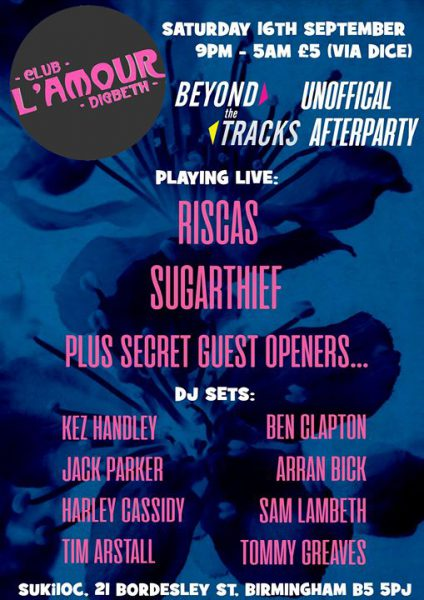 Beyond The Tracks after party (unofficial) - Club L'Amour @ Suki10c 16.09.17