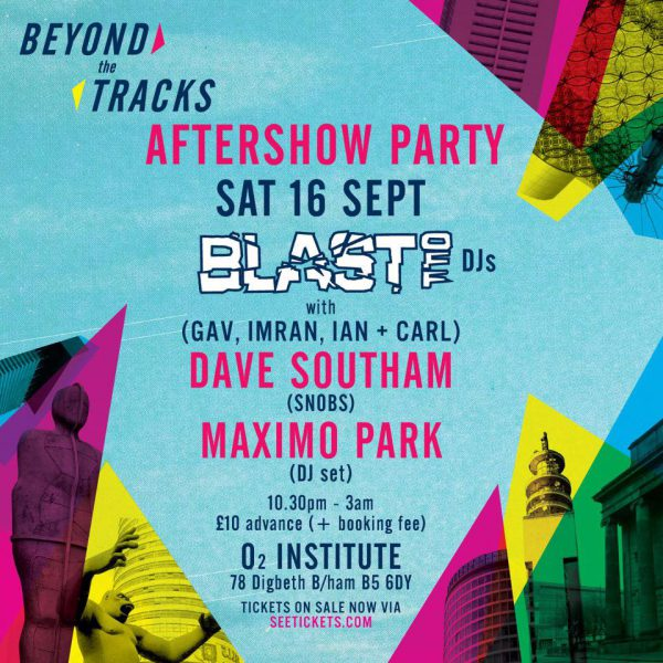 Beyond The Tracks after party (official) @ O2 Institute 16.09.17