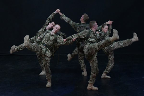 5 Soldiers - The Body is the Frontline / Rosie Kay Dance Company - production pics by Tim Cross