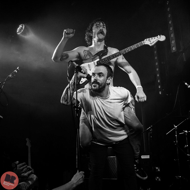 Idles @ All Year Leaving 21.10.17 / Denise Wilson – Birmingham Review