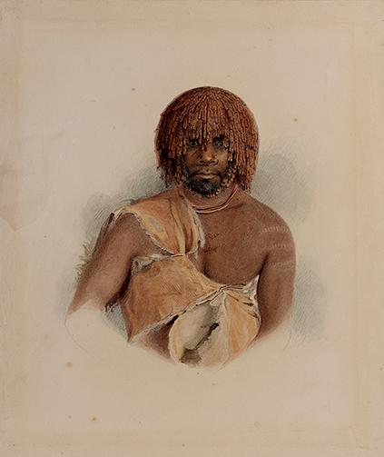 Thomas Bock - Untitled, Wurati (woreddy) (1831) / On display at Ikon Gallery until 11.03.18