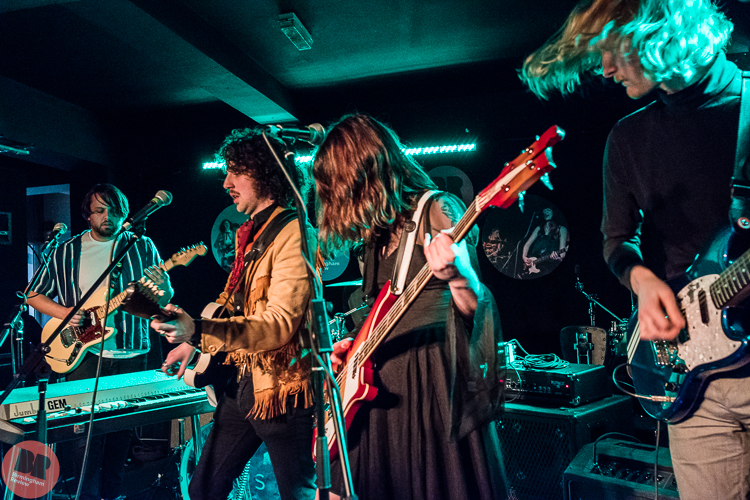The Hungry Ghosts at the Birmingham Review Winter Showcase @ Actress & Bishop 25.11.17 / Rob Hadley – Birmingham Review