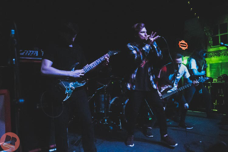 Currents – supporting Miss May I @ Mama Roux's 24.01.18 / Aatish Ramchurn – Birmingham Review