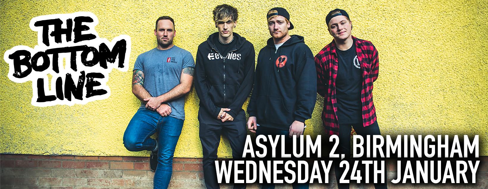 The Bottom Line @ The Asylum (2) 24.01.18