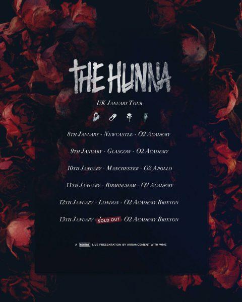 The Hunna @ O2 Academy 11.01.18