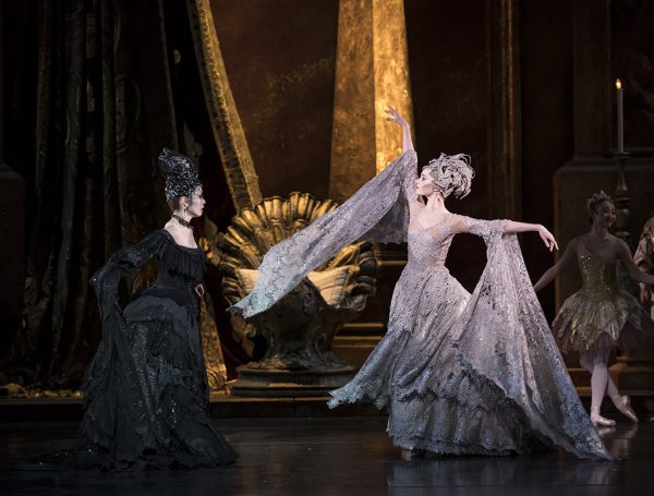 Nao Sakuma as Carabosse and Jenna Roberts as the Lilac Fairy / Bill Cooper
