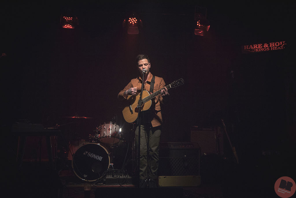 Miles Cocker - supporting Average Sex @ Hare & Hounds 25.01.18 / Martin O'Callaghan - Birmingham Review