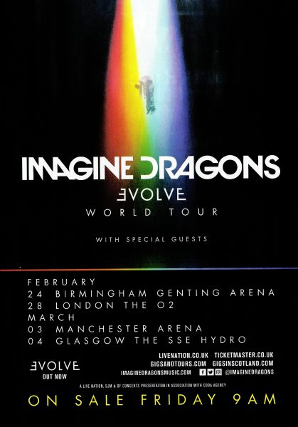 Imagine Dragons @ Genting Arena 24.02.18