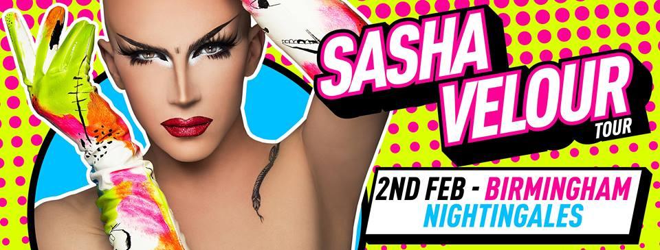 BREVIEW: Sasha Velour @ The Nightingale Club 02.02.18