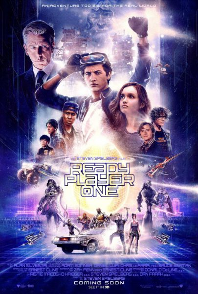 Ready Player One – UK release from 28.03.18