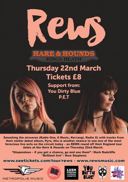 Rews @ Hare & Hounds 22.03.17