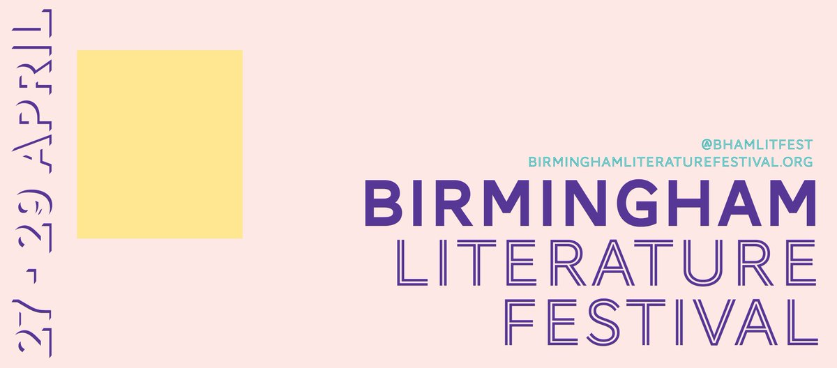BPREVIEW: Spring at Birmingham Literature Festival @ REP & other venues 27-29.04.18
