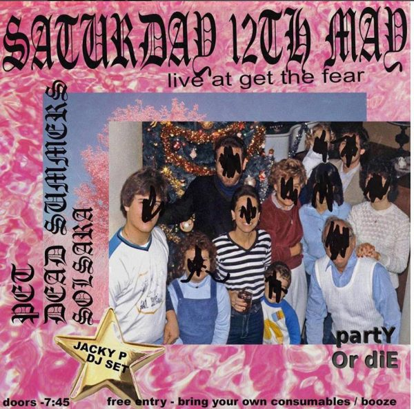 P.E.T @ Get the Fear (Digbeth) 12.05.18 / Free party