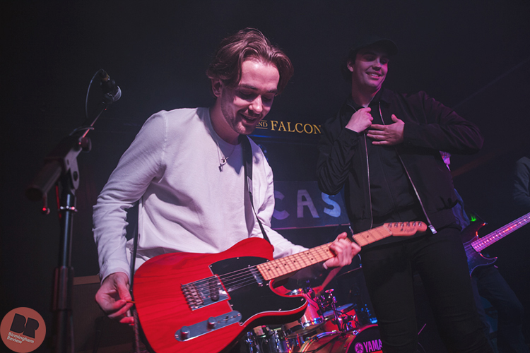 Paris Youth Foundation – supporting Riscas @ The Castle & Falcon 12.05.18 / Paul Reynolds