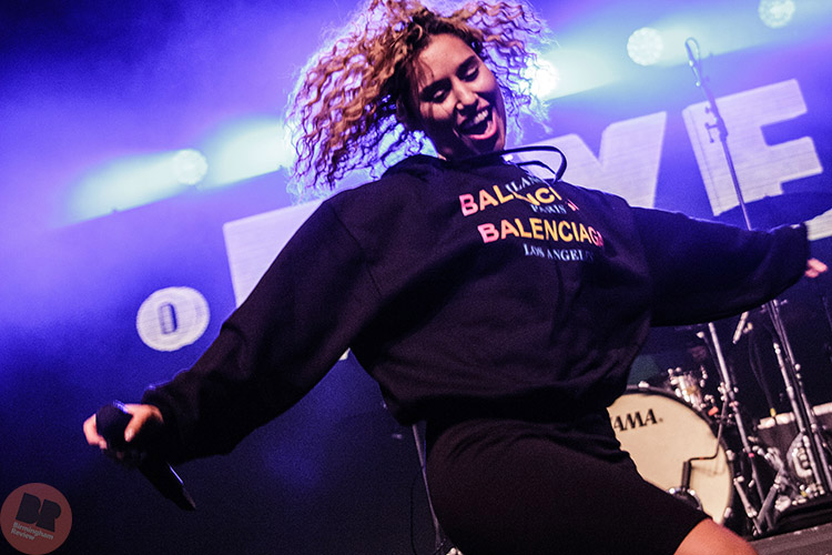 Raye – supporting Rita Ora @ O2 Academy Birmingham 16.05.18 / Eleanor Sutcliffe