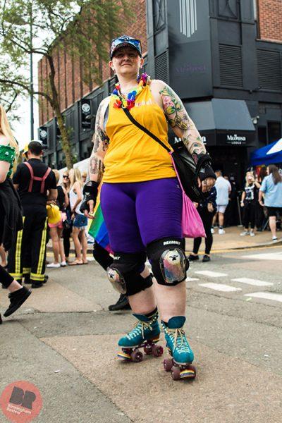 Michelle (Umbrella Health) at Birmingham Pride 26-7.05.18 / Eleanor Sutcliffe