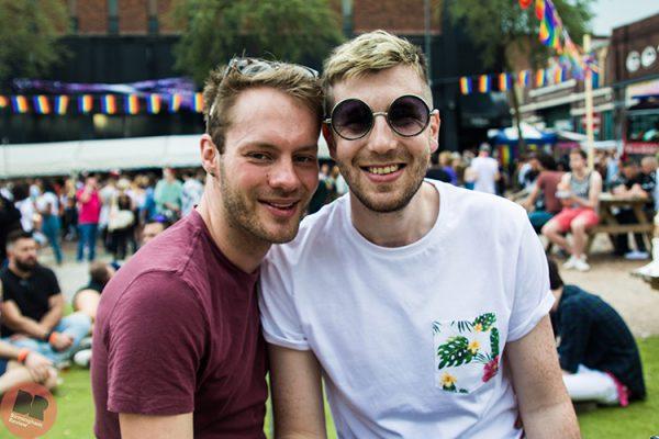 Liam and Chris at Birmingham Pride 26-7.05.18 / Eleanor Sutcliffe