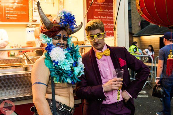 Oedapussy and Adam All at Birmingham Pride 26-7.05.18 / Eleanor Sutcliffe