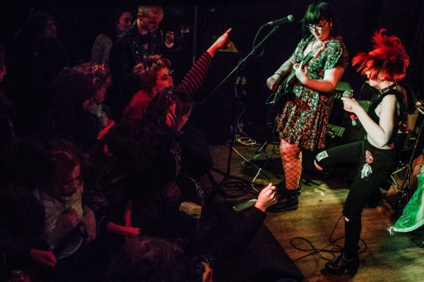 P.E.T - supporting The Cosmics @ The Sunflower Lounge 17.03.18 / Eleanor Sutcliffe