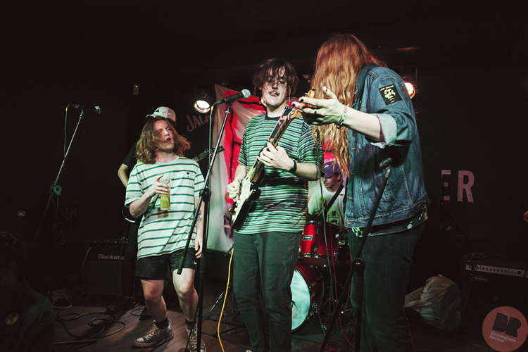 The Butters Aliens (and some of Miilkk) – supporting P.E.T @ The Sunflower Lounge 01.07.18 / Paul Reynolds