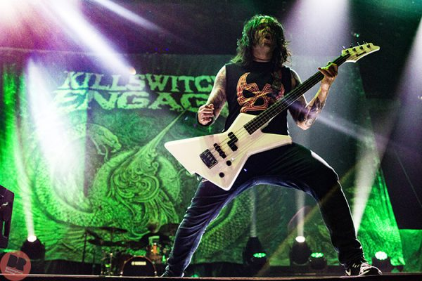 Killswitch Engage – supporting Iron Maiden @ Genting Arena 07.08.18 / Eleanor Sutcliffe